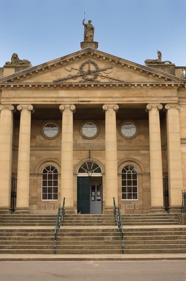 La construction de Tribunal Pénal, York, Angleterre photos stock