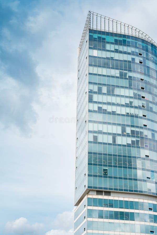 La construction la plus grande Gratte-ciel image stock