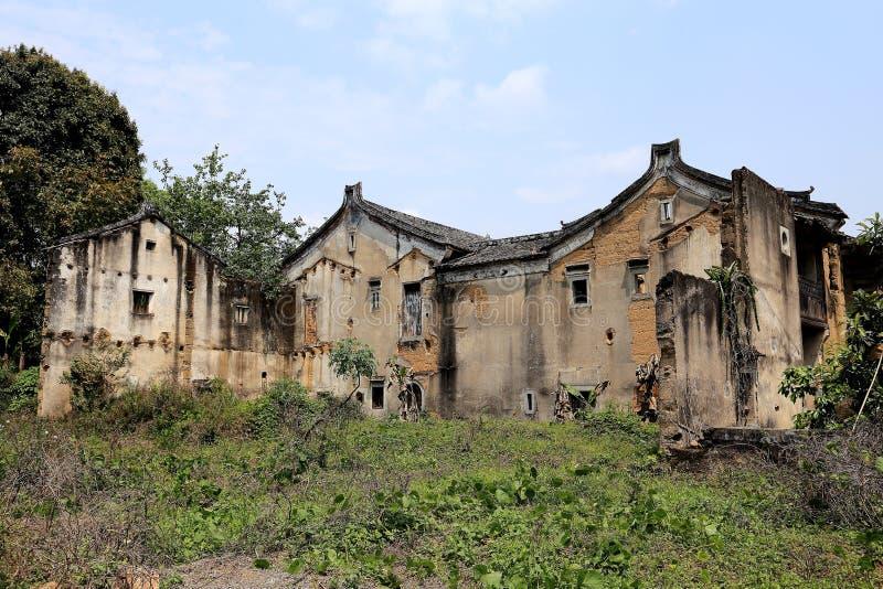 La contea di Dapu della città di meizhou, Guangdong, porcellana immagini stock libere da diritti