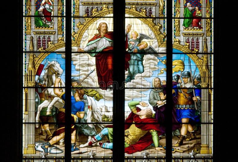 La conversione di St Paul fotografie stock libere da diritti