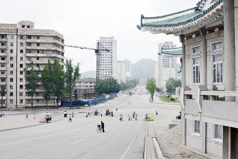La Corée du Nord Kaesong 2011 image libre de droits