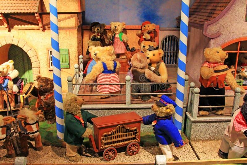 La Corea Seoul Teddy Bear Museum fotografia stock