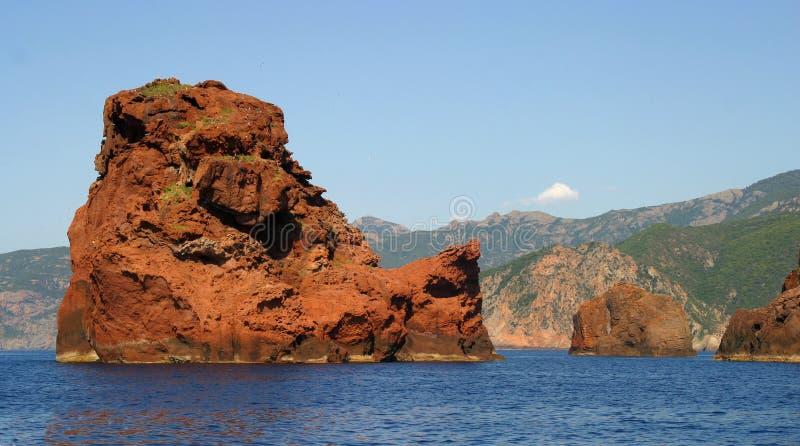 La Corse Scandola3 photographie stock libre de droits