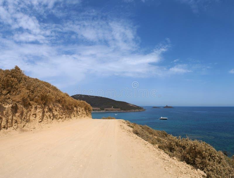 La Corsica, Corse, Cap Corse, Corse superiore, Francia, Europa, isola fotografia stock libera da diritti