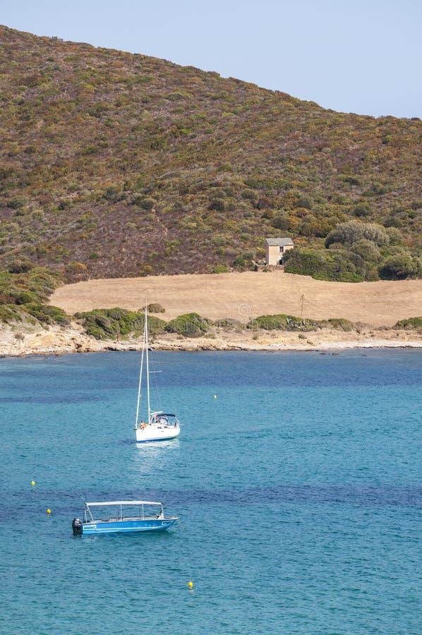La Corsica, Corse, Cap Corse, Corse superiore, Francia, Europa, isola fotografie stock libere da diritti