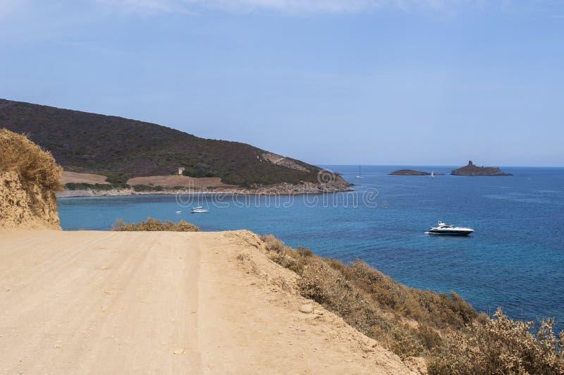 La Corsica, Corse, Cap Corse, Corse superiore, Francia, Europa, isola immagine stock