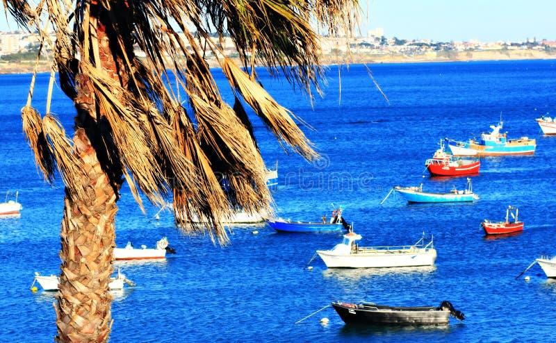 La costa atlántica hermosa de Portugal fotos de archivo libres de regalías