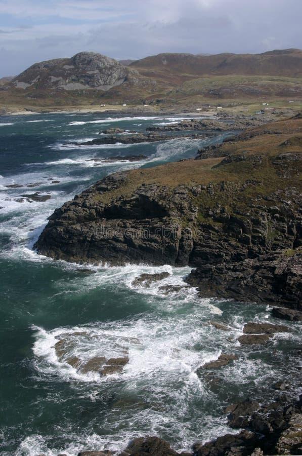 La costa de gran alcance imagen de archivo