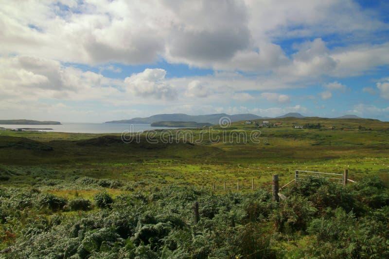 La costa de la isla de Skye imagen de archivo