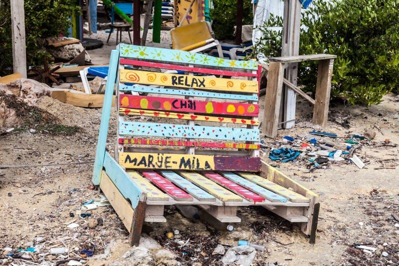 La costa del norte de Curaçao fotografía de archivo libre de regalías