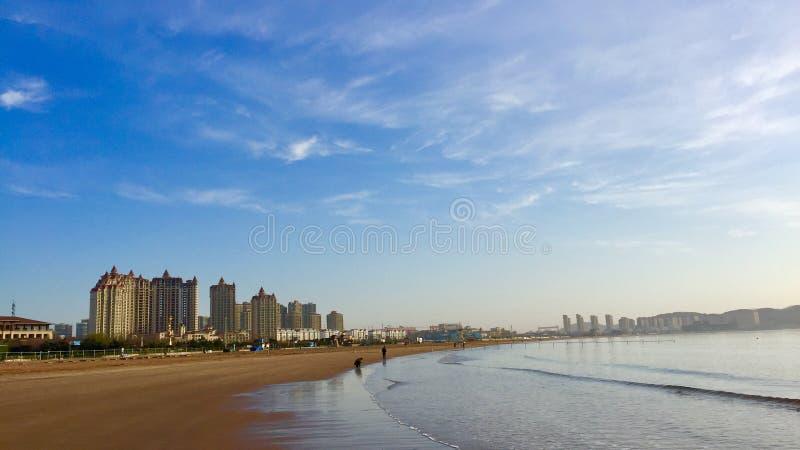 La costa del ` s del sole fotografie stock