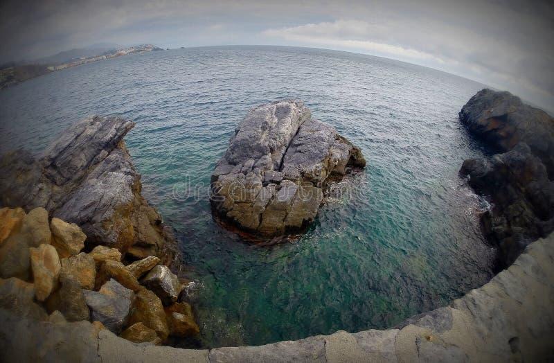 La Costa del Sol, Espagne image libre de droits