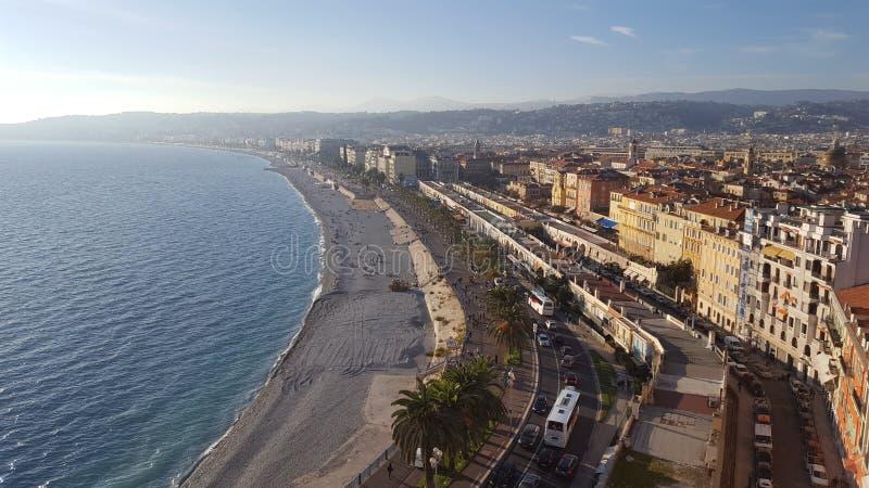La costa del sur de Francia Cote d'Azur imagenes de archivo