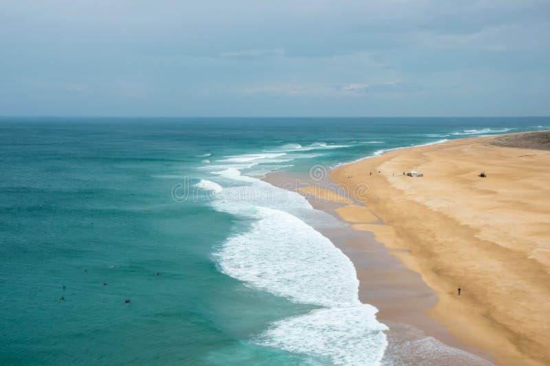 La costa dell'Oceano Atlantico immagine stock libera da diritti