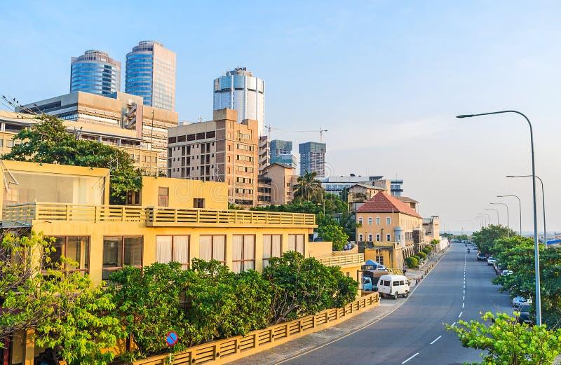 La costa di Colombo fotografia stock