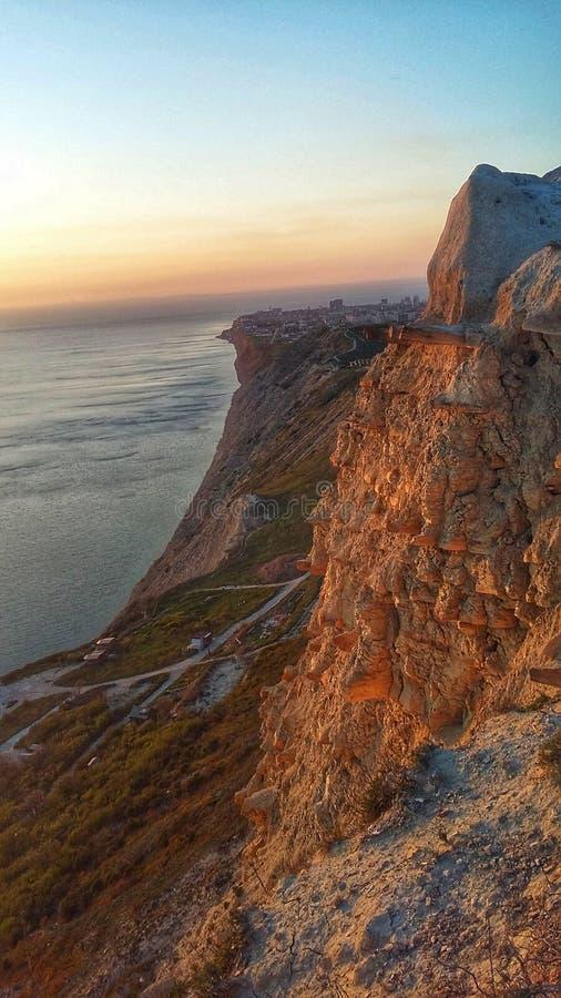 La costa di Mar Nero fotografia stock