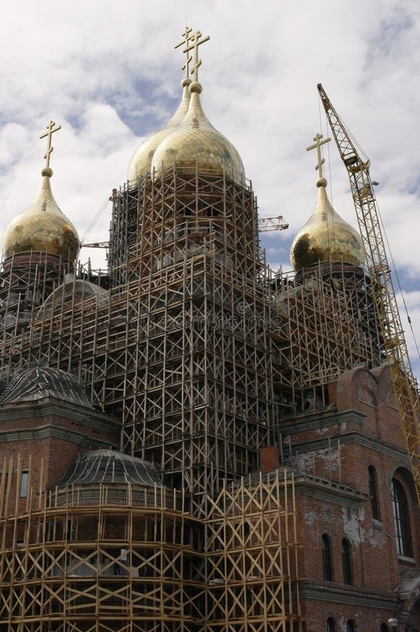 Download La Costruzione Della Cattedrale Dell'arcangelo Michael Immagine Stock - Immagine di archangel, michael: 55351107