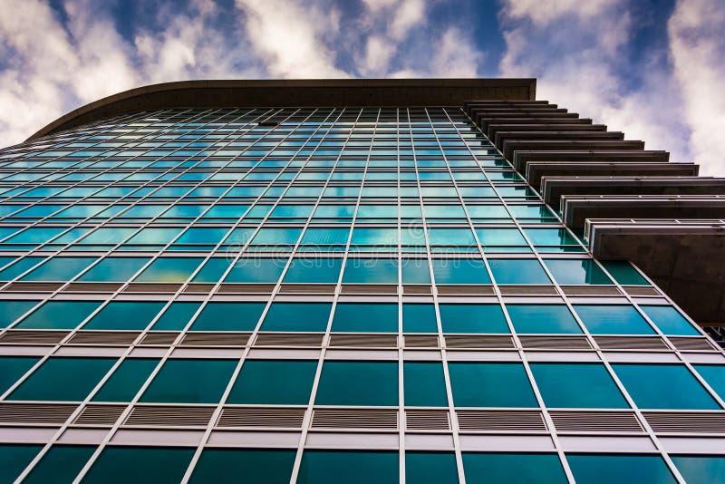 La costruzione di appartamento di zenit a Baltimora, Maryland immagini stock