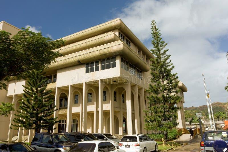 La costruzione ministeriale del Saint Vincent e Grenadine fotografia stock