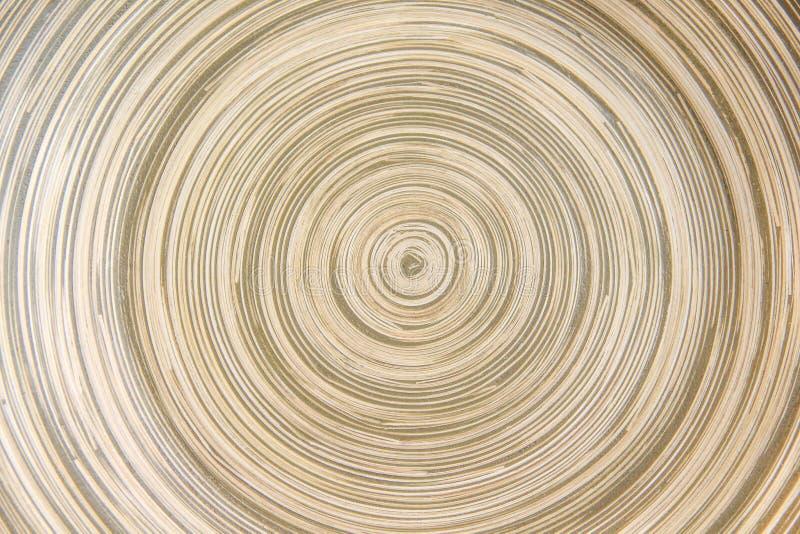 La couche abstraite de bambou dans la ligne a arrondi des modèles pour la texture ou le fond photo stock