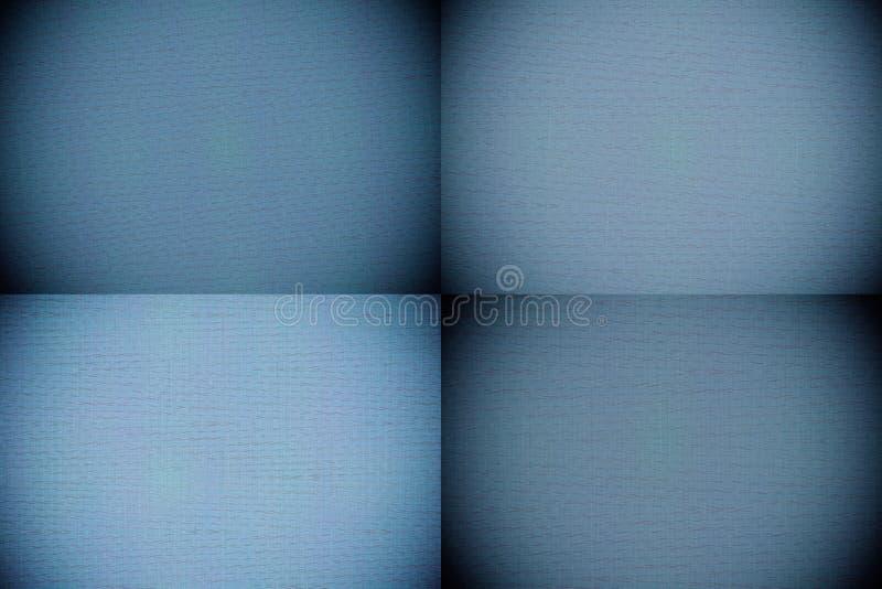 La couleur de marina a peint l'échantillon, surface de pile de tissu pour la couverture de livre, élément de toile de conception, photo libre de droits