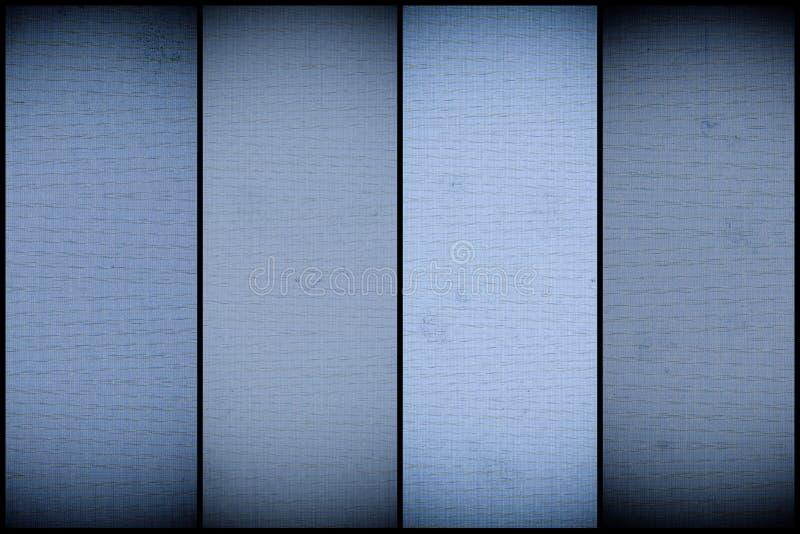 La couleur de marina a peint l'échantillon, surface de pile de tissu pour la couverture de livre, élément de toile de conception, image libre de droits