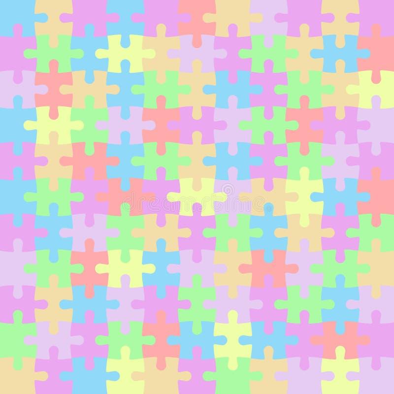 La couleur de puzzle rapièce la mosaïque images libres de droits