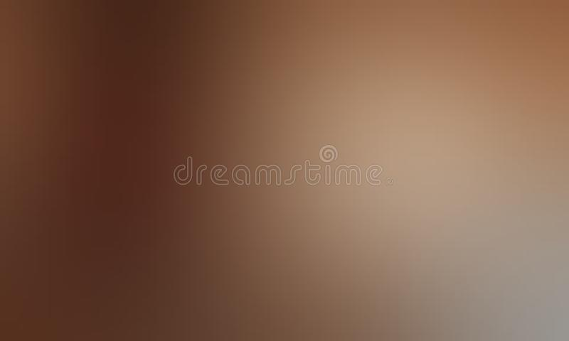 La couleur en pastel de Brown a ombragé le papier peint abstrait de fond de tache floue, illustration de vecteur illustration de vecteur