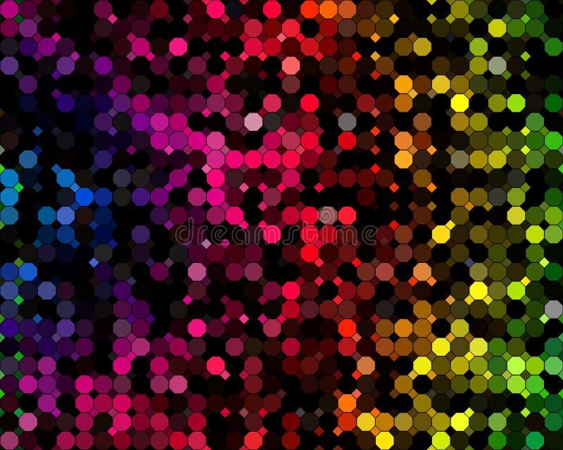 La couleur entoure le fond abstrait illustration libre de droits