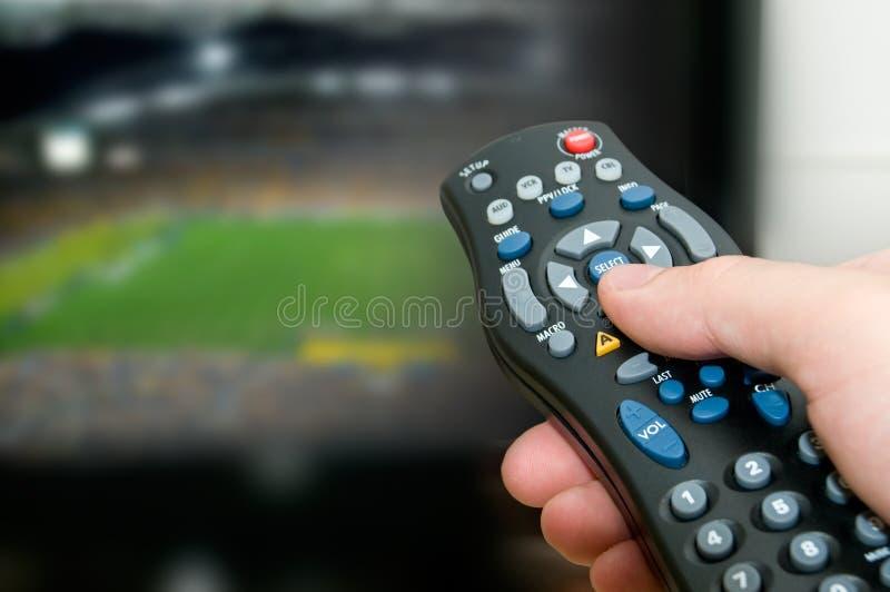 La coupe du monde est terminée, laisse la modification le canal photographie stock