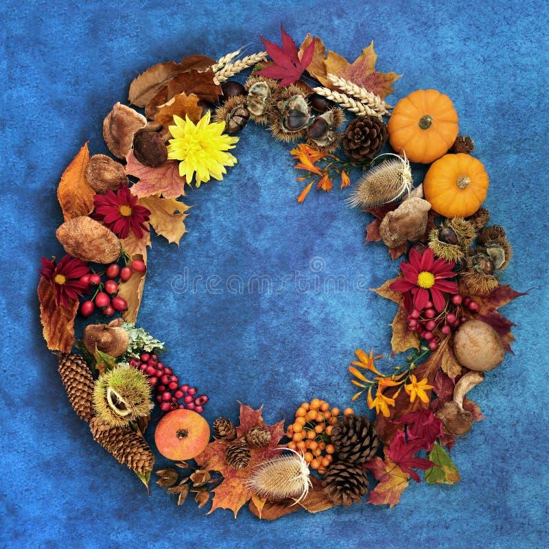 La couronne d'automne du Festival de la récolte images stock