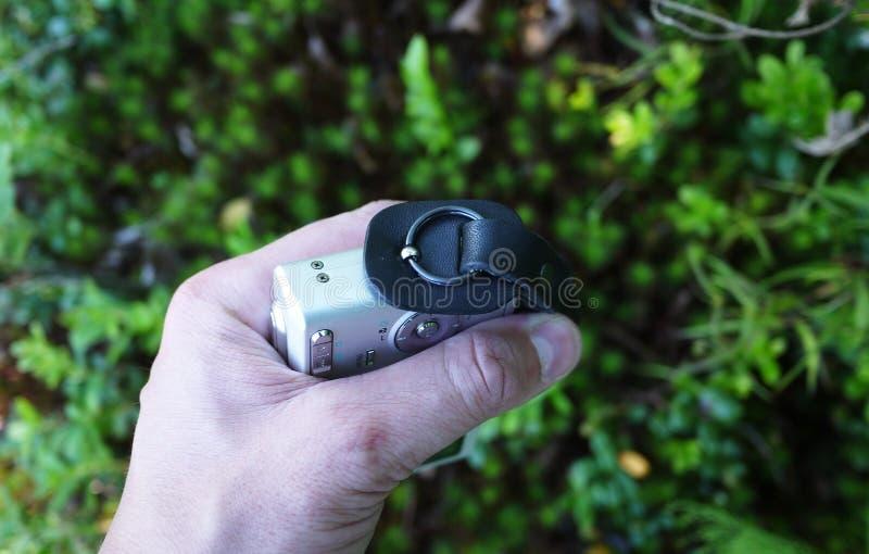 La courroie de transport de la caméra D?tails et plan rapproch? photographie stock libre de droits