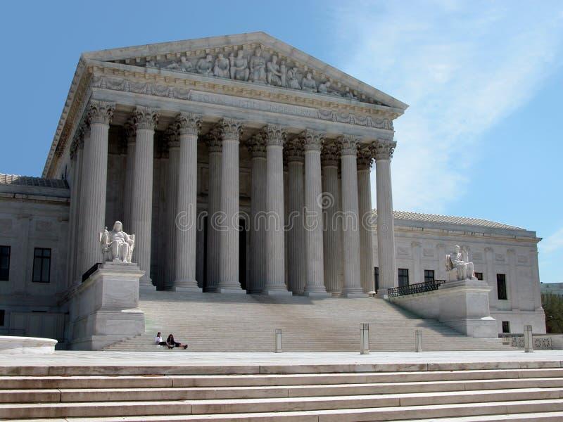 La court suprême de l'Amérique photographie stock libre de droits