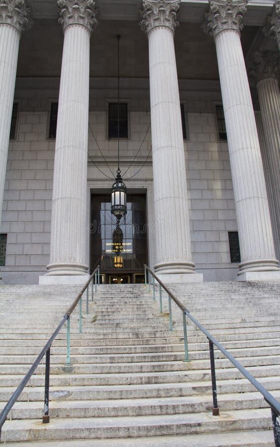La court suprême de New York photographie stock