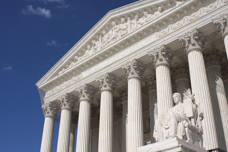 La court suprême des USA images stock