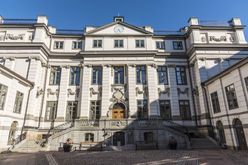 La court suprême du palais de la Suède Bonde photos stock