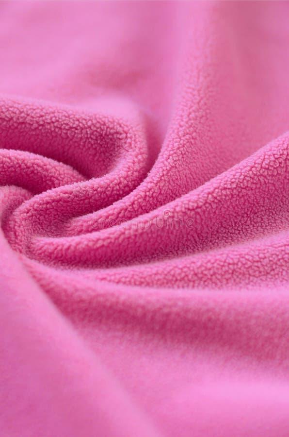 La couverture du rose velu image libre de droits