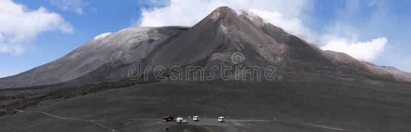La crête du support l'Etna photo libre de droits