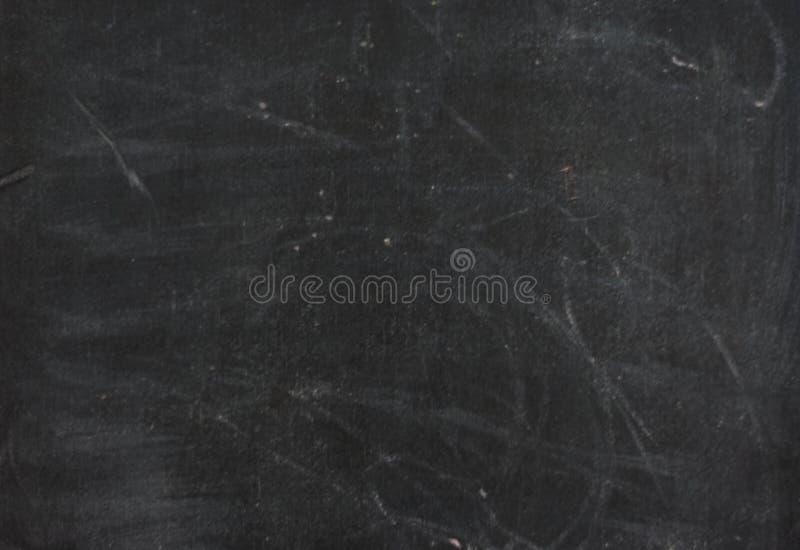 La craie a frotté sur le tableau noir, texture grunge, fond photo stock