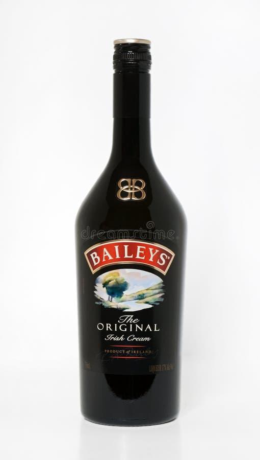 La crema irlandese originale di Bailey immagini stock libere da diritti
