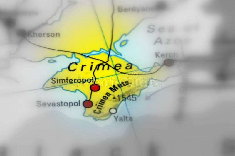 La Crimée, péninsule sur la côte du nord de la Mer Noire photo stock