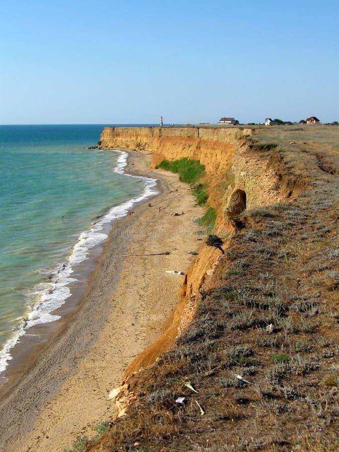 La Crimea e Mar Nero fotografie stock libere da diritti