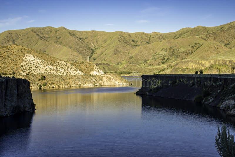 La crique de Moore rencontre Boise River images stock