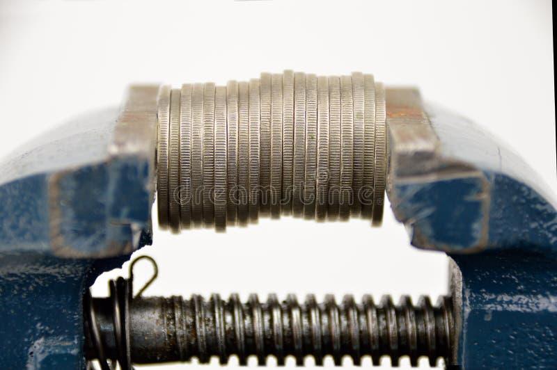 La crisis económica fotografía de archivo libre de regalías