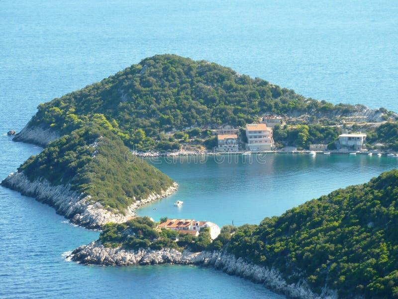 La Croatie en été photos stock