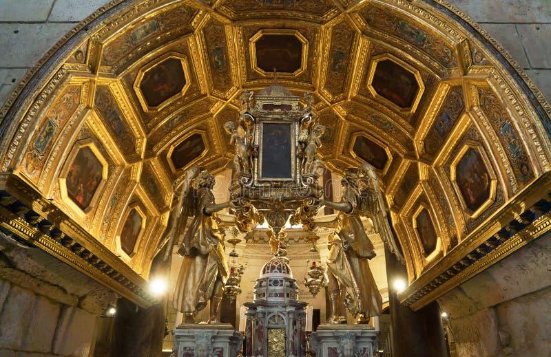 La Croatie fendue - juin 2018 Cathédrale de saint Domnius éditorial photo stock