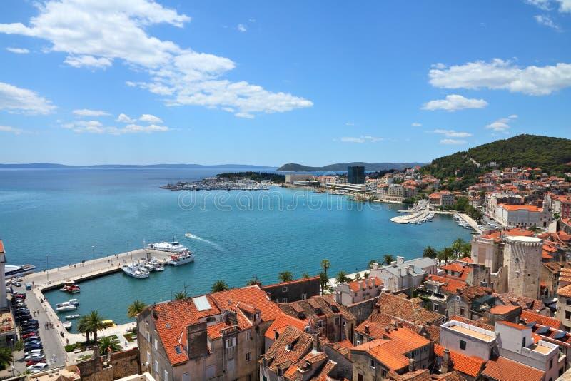 La Croatie - fente photos libres de droits