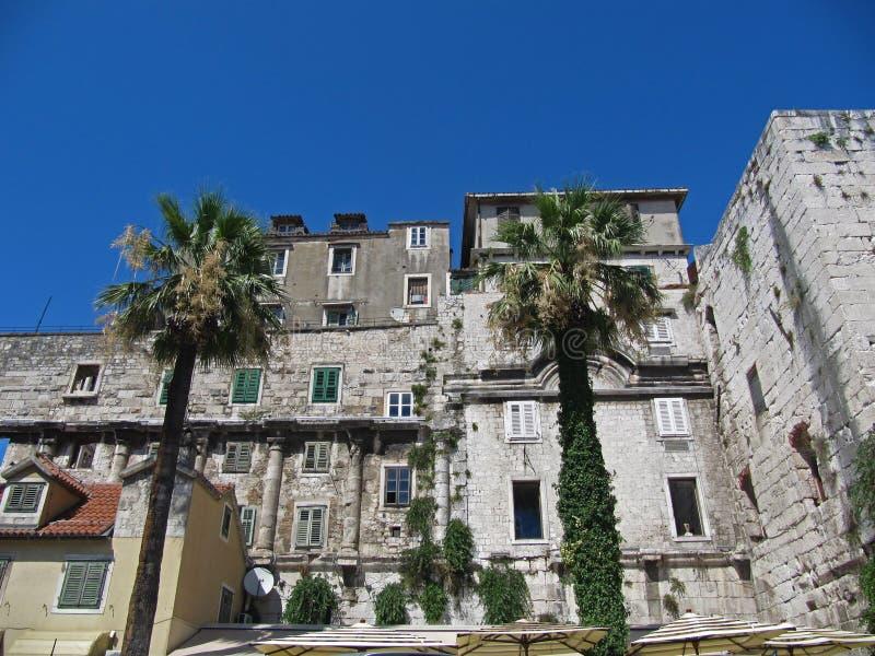 La Croatie, fente, ville, l'Europe, vacances image libre de droits