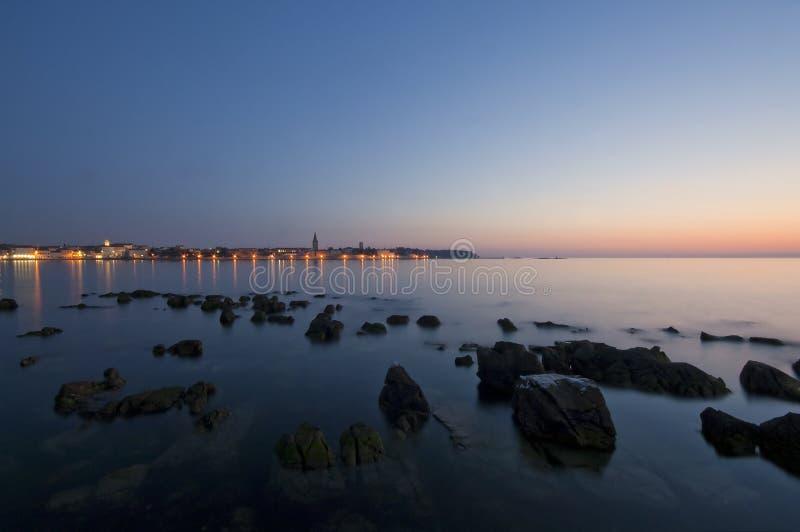 La Croatie - Porec image libre de droits