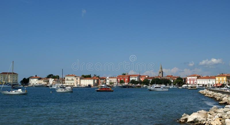 La Croatie, Porec photographie stock libre de droits